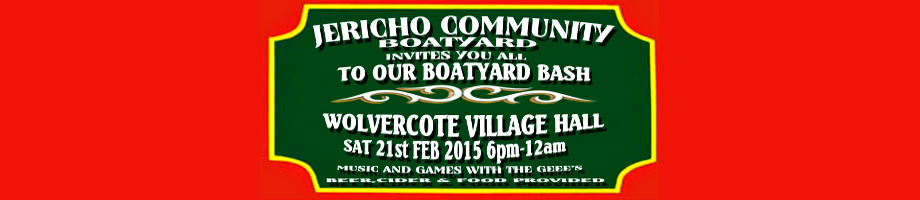 Party 6pm-12am saturday 21st Feb at Wolvercote Village Hall